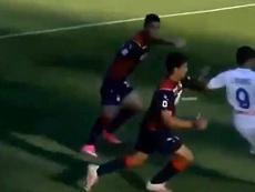 Muriel volvió a marcar en la Serie A. Captura/MovistarLigadeCampeones