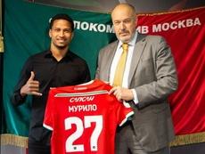 Murilo Cerqueira llevará el 27 en el Lokomotiv de Moscú. FCLokomotiv