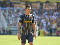 Damián Musto, destaque do Rosario Central, mais perto do Grêmio. RCentral