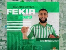 Fekir ya es del Betis. RealBetis