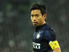 Nagatomo, jugador del Inter. Twitter