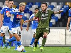 Boca sueña con la vuelta de Nández; el Inter le sigue de cerca. AFP