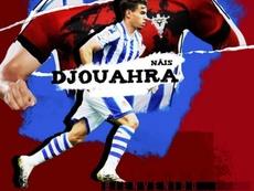 Djouahra ya es del Mirandés. Captura/CDMirandés