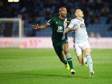Iago Aspas marcó su primer gol de la temporada. RCCelta