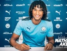 OFICIAL: el Manchester City ficha a Nathan Aké. ManCity