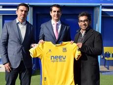 Neev Energy, nuevo patrocinador del club. ADAlcorcón