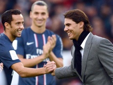 Nene is one of PSG's less-heralded heroes. AFP
