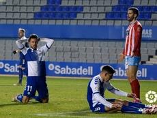 El Sabadell nunca le ha ganado al Almería en los Juegos del Mediterráneo. LaLiga