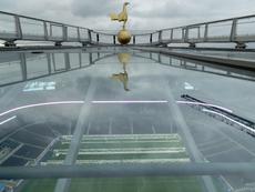 El estadio está casi listo. SpursOfficial