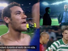 Los partidos que fraguaron la leyenda de Cristiano, Mourinho y Neymar, por DAZN. Twitter/DAZN_es