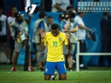 Luiz Gustavo s'est confié au sujet de Neymar. Twitter/Neymarjr