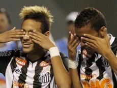 A história de Neymar na Libertadores. AFP