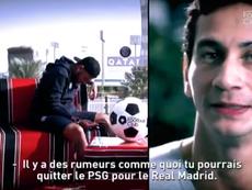 Neymar falou sobre o seu futuro. Captura/CanalFootClub