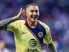 Nico Castillo apunta al duelo ante Cruz Azul. Twitter/ClubAmerica