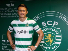 Nicolai Skoglund, otra promesa que viene pisando fuerte. SportingCP