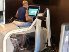 Castillo entrena con tecnología de la NASA para recuperarse lo antes posible. Instagram/castillo30_