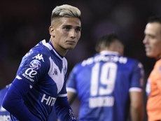 Nico Domínguez estará ante Defensa. Velez