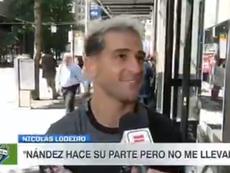 Lodeiro se ofreció a Boca. Captura/ESPN