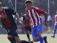 Simeone no quita ojo a Schiapaccasse. ClubAtléticodeMadrid