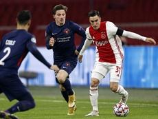 Tagliaifico is a key player for Ajax. EFE