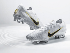 The boots made by Nike in honour of Modric's Ballon d'Or win. ABCDEFUTBOL