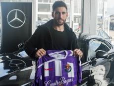 Nikos Karabelas estará fuera del equipo pucelano durante dos meses por una lesión. RealValladolid