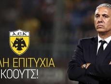 Kostenoglou toma las riendas del AEK. AEKAtenas