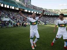 Nino espera poder alcanzar el reto de ser el máximo goleador. Twitter/LaLiga