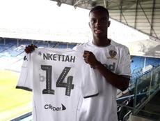 Arsenal confirme le prêt de Nketiah à Leeds United. Twitter/LUFC