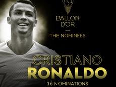 Conoce los nominados al Balón de Oro. FranceFootball