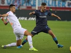 El Trabzonspor se llevó tres puntos de oro. Twitter/Trabzonspor