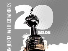 Globo reprisa Barcelona-EQU x Vasco de 1998. Twitter @VascodaGama