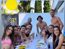 Reunião ilegal em Sevilla. Instagram