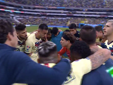El discurso de Ochoa para motivar a sus compañeros. CapturaTwitter/ClubAmerica