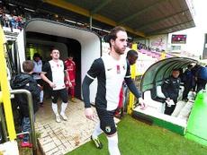 Odei Onaindia deja el Burgos para jugar en el filial del Athletic de Bilbao. DiariodeBurgos