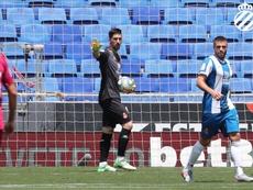 Oier debutó y entró en la historia del Espanyol. Twitter/RCDEspanyol