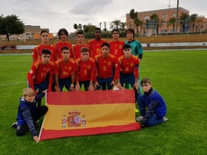 España remonta y gana a Japón en la SportChain AGS Cup. SeFutbol
