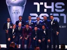 Os onze melhores do 'The Best' 2007. FIFA