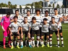 El Valencia ganó al Chelsea 2-1 en la Youth League. Twitter/Academia_VCF