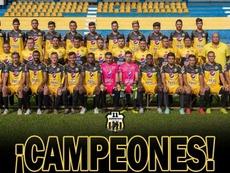 Once Municipal es campeón del Clausura. Twitter/11deportivofc