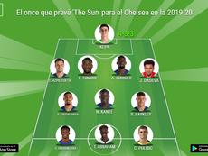 Cuatro cambios en el posible once del Chelsea de la 2019-20. BeSoccer