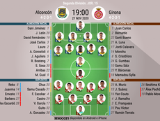 Onces del Alcorcón-Girona. BeSoccer