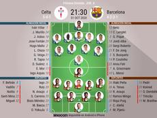 Sigue el directo del Celta-Barcelona. BeSoccer
