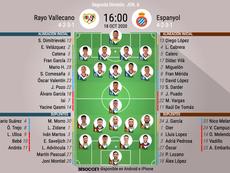 Onces del Rayo-Espanyol. BeSoccer