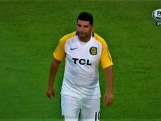 Ortigoza habló de su lesión antes del partido ante Godoy Cruz. Captura/FoxSports