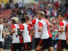Depois da liga, agora veio a Supercopa para os de Roterdão. Twitter/Feyenoord