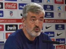 Óscar Fernández es el nuevo técnico del Almería. AtletiAcademia