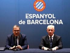 Perarnau fue destituido en el Espanyol. Twitter/RCDEspanyol