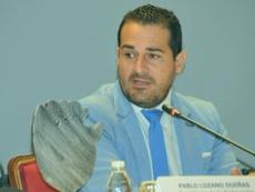 Pablo Lozano, nuevo presidente de la Federación Andaluza de Fútbol. RFAF