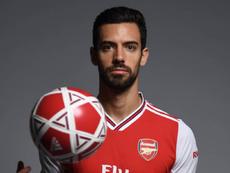 Les débuts de Pablo Marí à Arsenal retardés. AFP